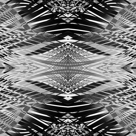 PRETTY BLACK & WHITE LINES PII van Pia Schneider