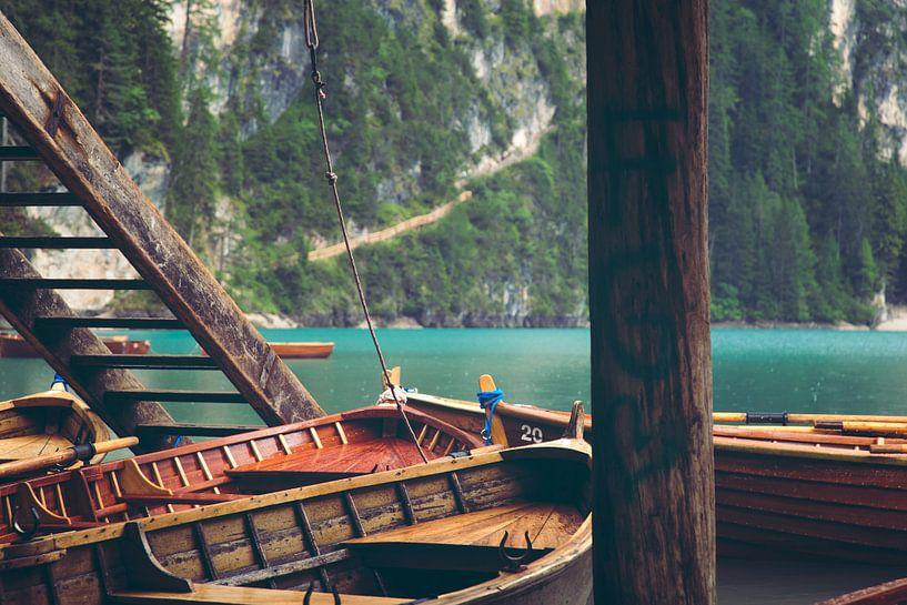 Lago di Braies / Pragser Wildsee van Kristof Ven