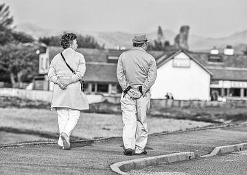 Wandelen in Kyleakin  Isle of Skye (Schotland) von Frank Noordanus