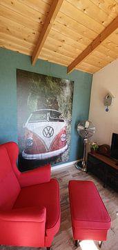 Klantfoto: VW Bulli van Harald Fischer