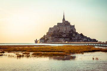 Mont St Michel - Frankrijk van Thijs van Beusekom
