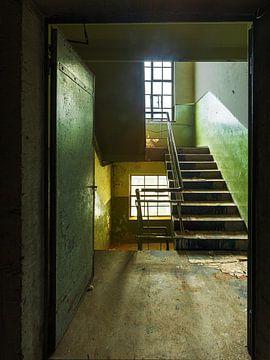 Green Stairs - Norta II von Michael Schulz-Dostal