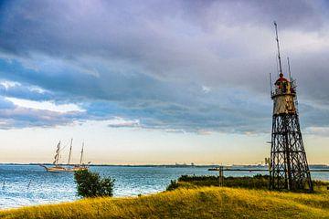 """Lighthouse Island"" near Amsterdam sur Kaj Hendriks"