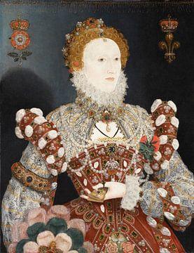 Porträt von Königin Elisabeth I., Nicholas Hilliard