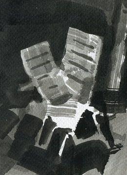 twee stoelen  4 van Maartje Kaper