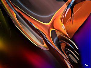 Der Vogel aus Feuer und Metall
