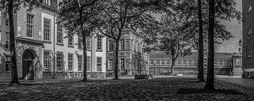 Breda - Schlossplatz - Schwarz und Weiß von I Love Breda