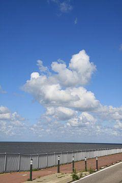 Niederländisch bewölkten Himmel von Spijks PhotoGraphics