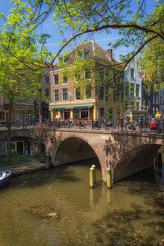 De Gaardbrug in Utrecht over de Oudegracht (2) van De Utrechtse Grachten