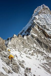 Climbing Ama Dablam  van