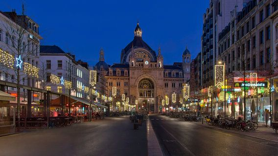 Centraal Station Antwerpen van Bob de Bruin
