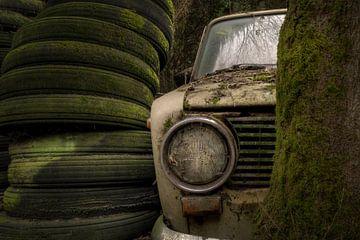 voiture abandonnée sur Kristof Ven