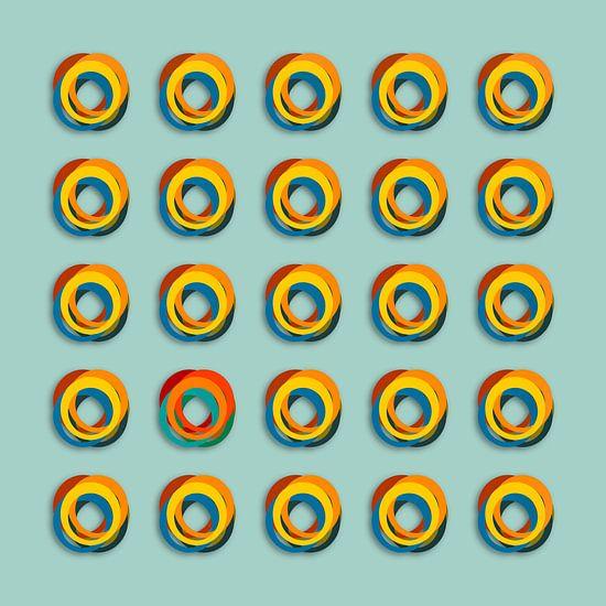 Gekleurde ringen