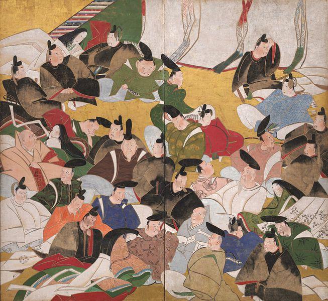 Tatebayashi Kagei - Sechsunddreißig unsterbliche Dichter von 1000 Schilderijen