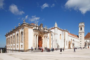 Universität, Biblioteca Joanina Bibliothek, Coimbra, Beira Litoral, Regio Centro, Portugal