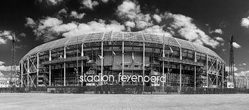 Stadion Feyenoord Rotterdam - De Kuip von Pieter van Roijen