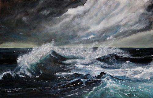 Stormy weather van Stephanie Köhl