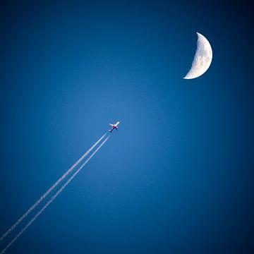 Fly to the moon van Mario de Lijser
