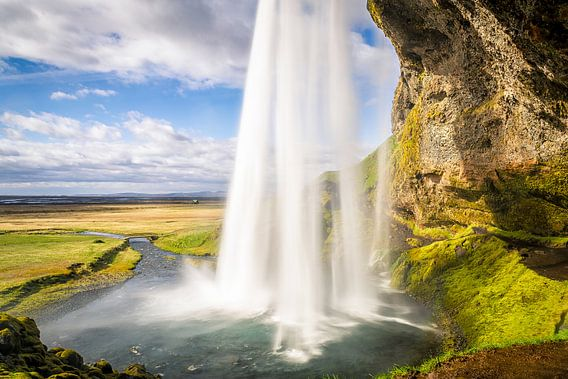 Seljalandsfoss, IJsland von Chris Snoek