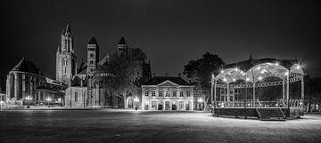 Vriethof Maastricht in Zwart en Wit