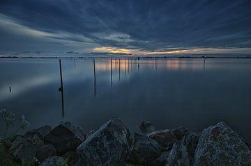 Avondschemering over het Heegermeer (3) von Remco de Vries