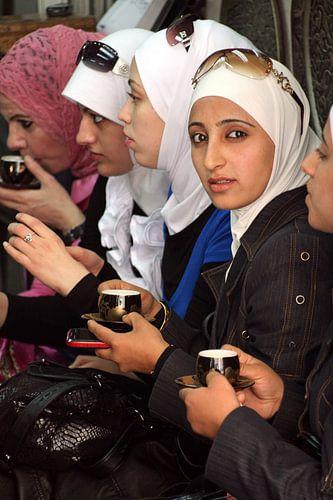 Syrian girl van