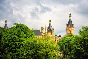 Het kasteel van Schwerin