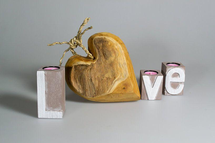Love your houten hart van Quint Wijnhoven