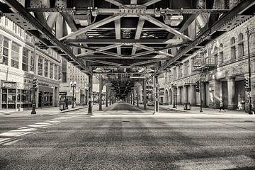Streets of Chigaco van VanEis Fotografie