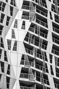 Architecture details in Rotterdam.