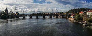 Karlsbrücke Prag von Stefan Havadi-Nagy
