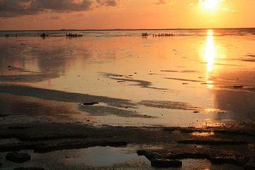 Waddenzee kust van By Foto Joukje
