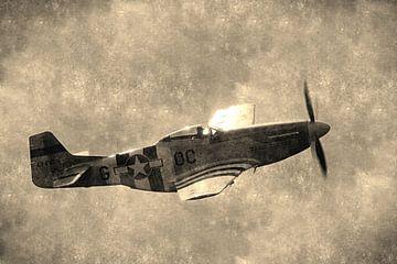 Mustang  P-51D-30-NA van Pieter van Dijken