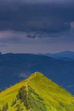 Stijgend onweer, Kuhgehrenspitze van Walter G. Allgöwer