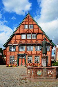 "The ""Faerberhaus"" in Luetjenburg"