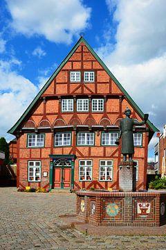 """The """"Faerberhaus"""" in Luetjenburg van Gisela Scheffbuch"""