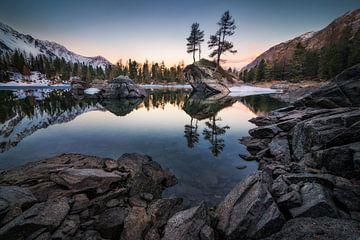 Lago di Saoseo von Severin Pomsel