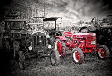 Trecker Traktor Oldtimer van Peter Roder