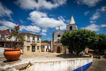 Kirche von Obidos von Antwan Janssen