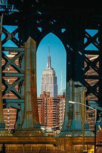 Iconic view on Manhattan