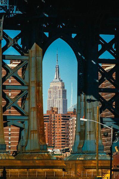 Iconic view on Manhattan van Joran Maaswinkel