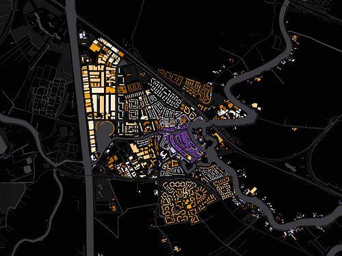 Kaart van Weesp van