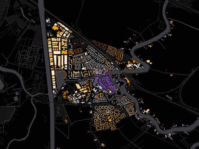 Kaart van Weesp van Stef Verdonk