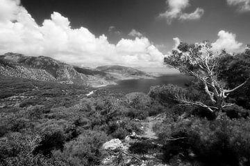 Küste bei Kira Panagia, Karpathos, Griechenland von Peter Baak