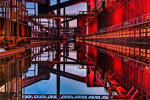 De Zeche Zollverein in Essen