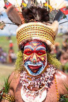 Ein lokaler Stamm in Papua-Neuguinea von Milene van Arendonk