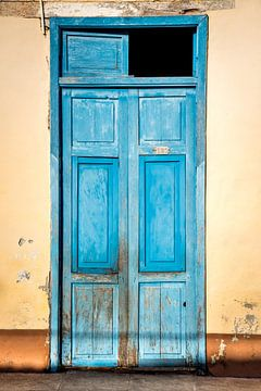 oude deur Cuba Trinidad