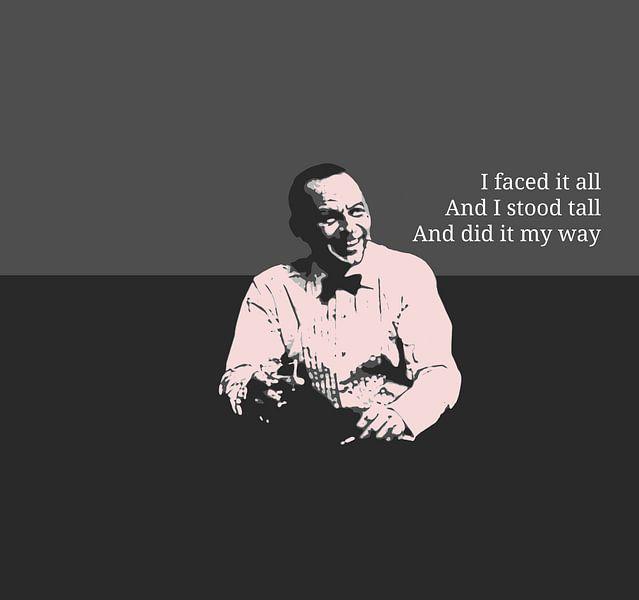 Frank Sinatra van Ben Visser