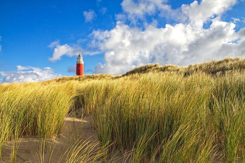 Vuurtoren van Texel / Texel Lighthouse van Justin Sinner Pictures ( Fotograaf op Texel)
