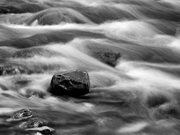 Flusslandschaften Schwarzweiss von Andreas Müller